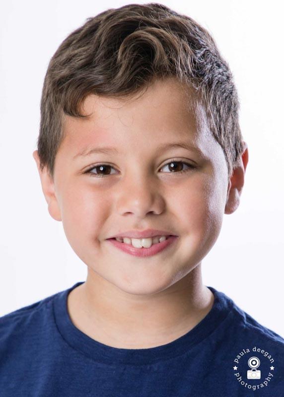 child actor headshot surrey | Paula Deegan Photography