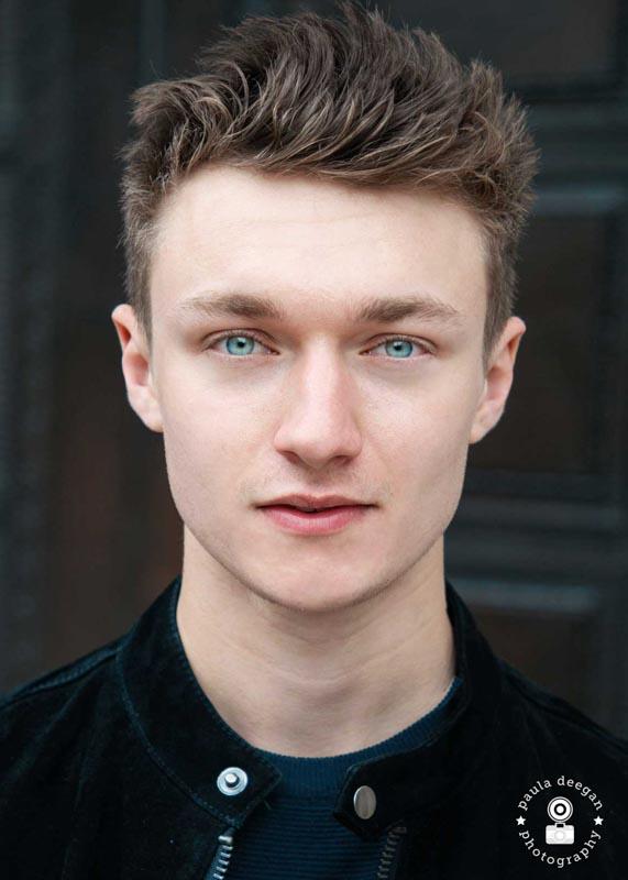 actor headshot surrey | Paula Deegan Photography